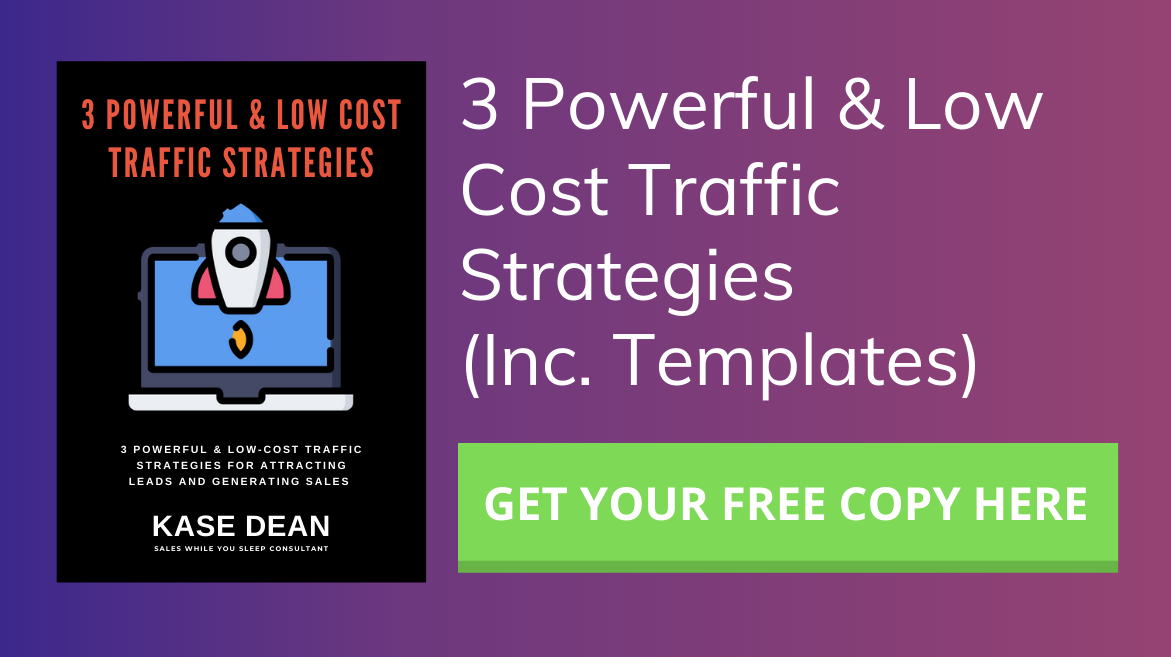 Free Funnel Traffic Strategies - CTA Banner Image