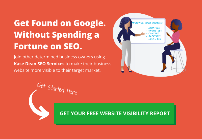 Free SEO Website Visibility Report