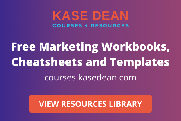 Kase Dean Courses and Resources - Blog Sidebar Banner