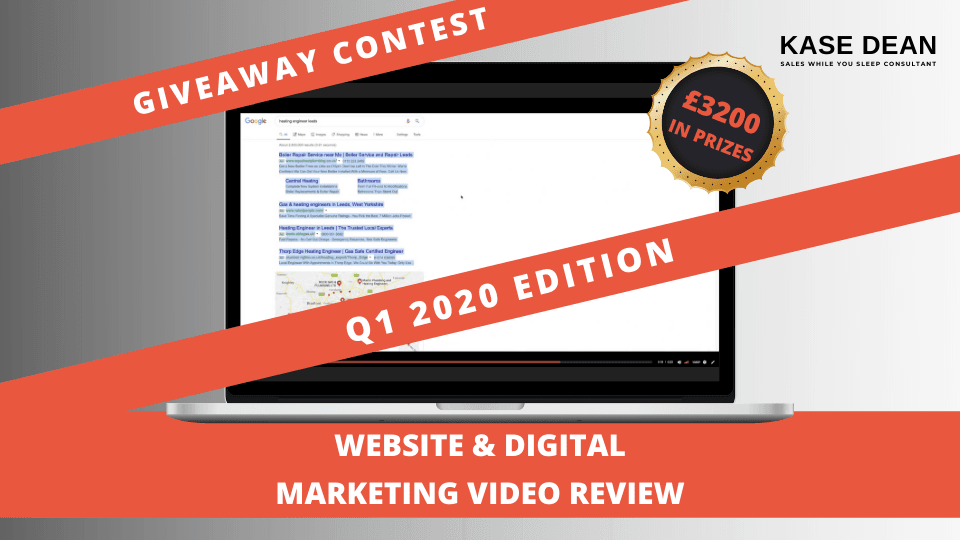 Win a Website & Digital Marketing Video Review