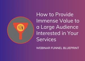 Webinar Funnel Blueprint
